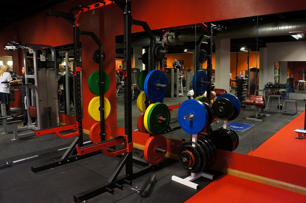 free weights area at streamline fitness gym wibsey bradford