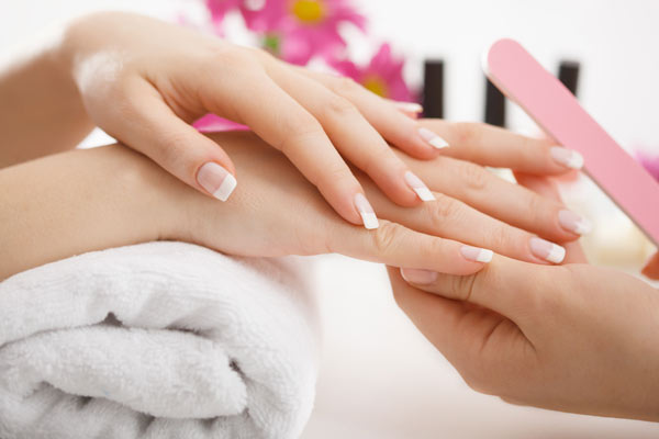 nails manicure beauty pampering at streamline health club