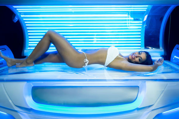 sunbed beauty pampering at streamline health club