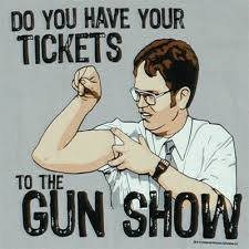gun show inspiration for body transformation programme