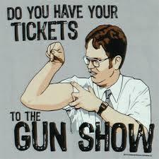 gun show inspiration for body transformation programme