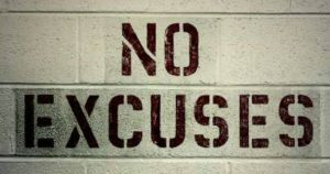 no excuses inspiration for body transformation programme